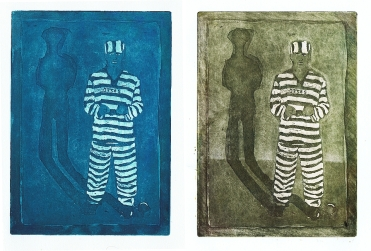 copper sulphate-salt etching