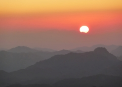 Sunrise from the top