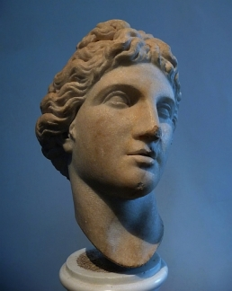 portrait in marble, Rome
