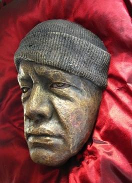 Aaron, cast bronze