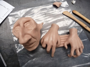 supersculpy head and hands