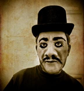 Victorian villian (Ralph) mask