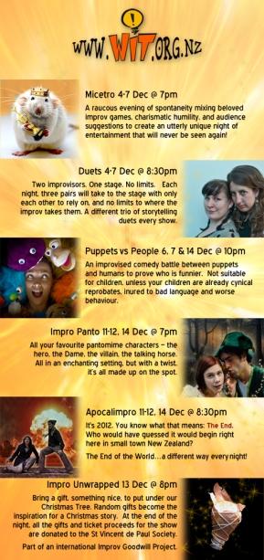 Christmas Cracker flyer