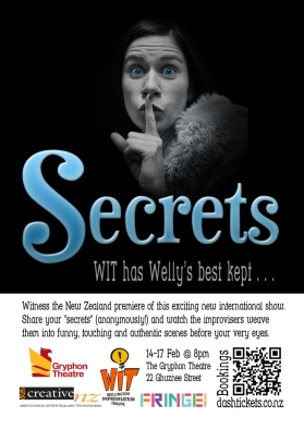Secrets flyer