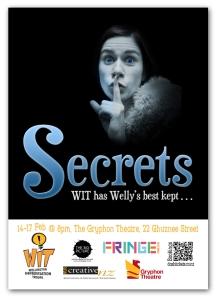 secrets improv poster