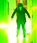 green laser photography
