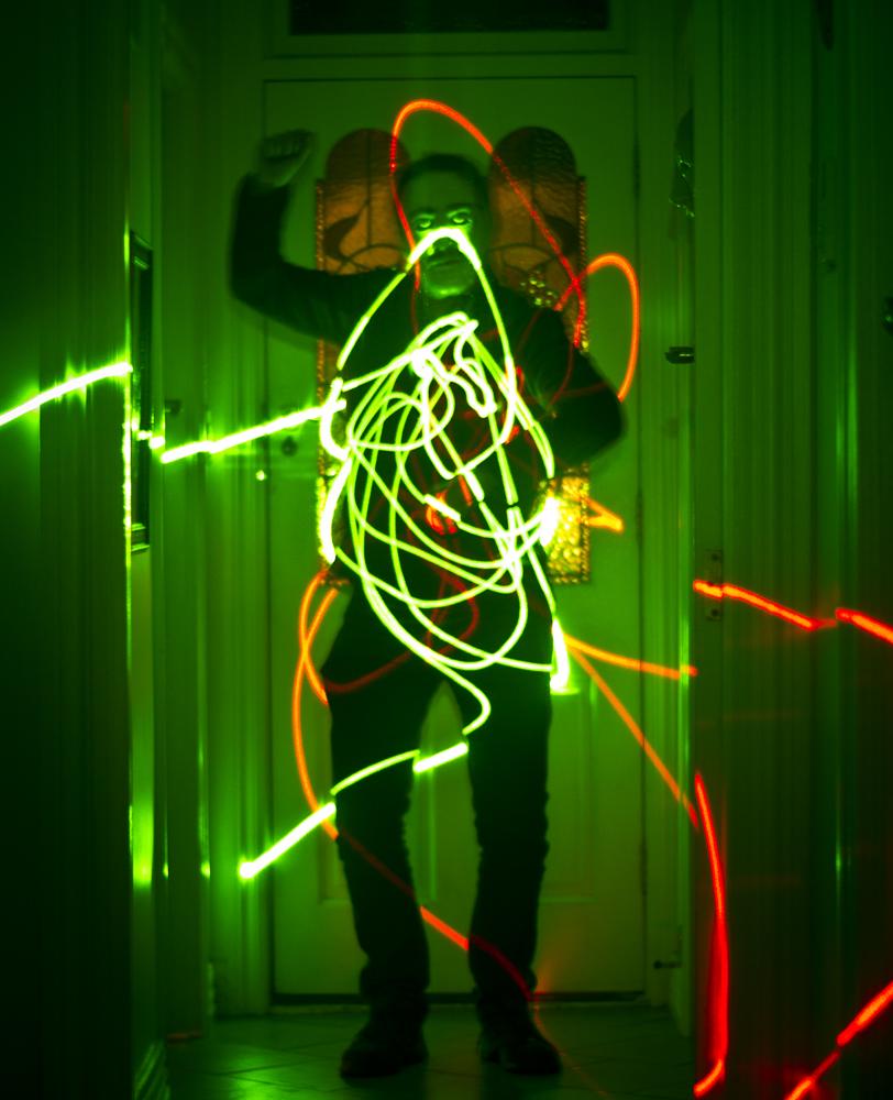 laser man