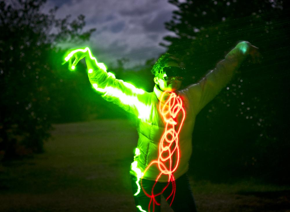 laser photo