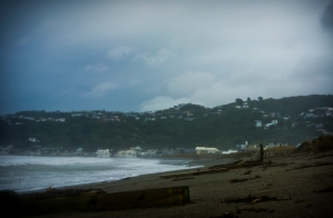 Lyall Bay storm