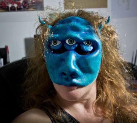 Instamorph alien mask