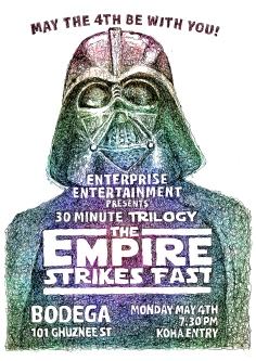 Empire Strikes Back poster