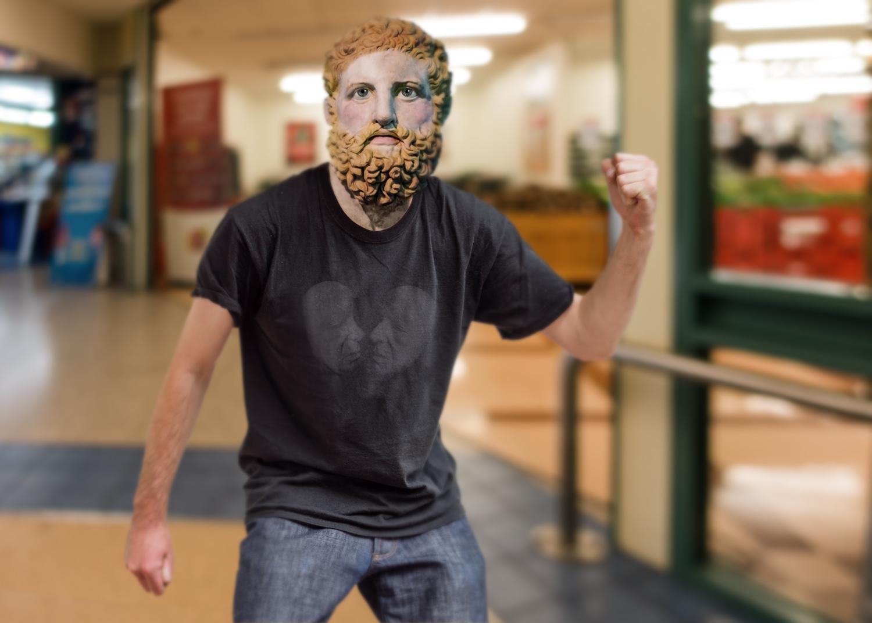 Romans photoshopped