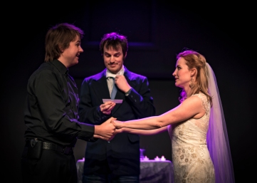 improv festival wedding