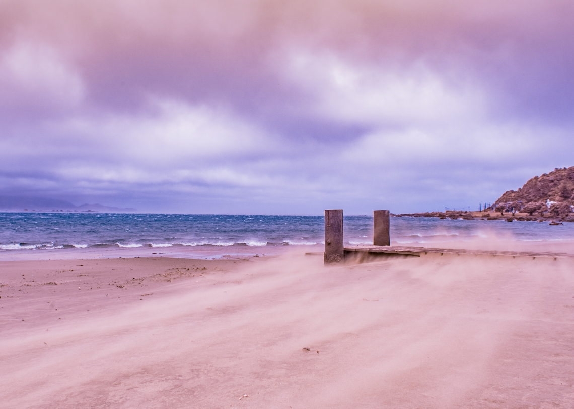 Lyall Bay IR sand