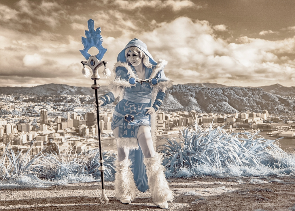 Comicon ice maiden
