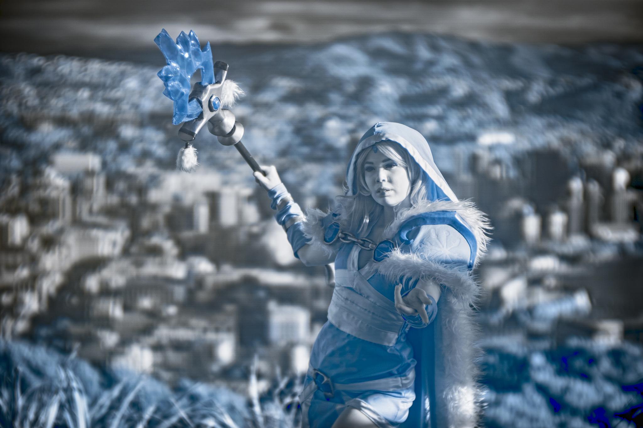 Comicon ice maiden