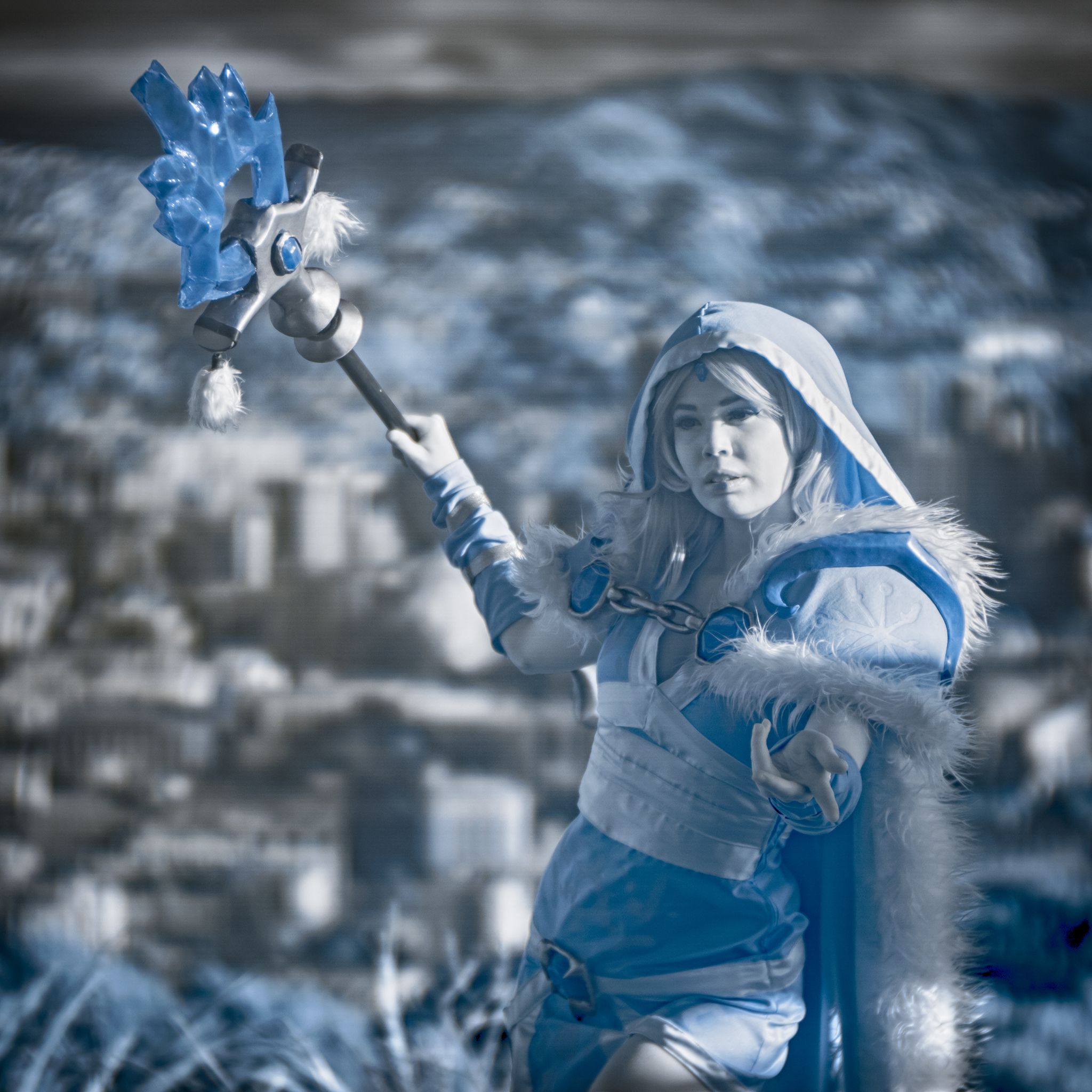 IR camera, Ice maiden