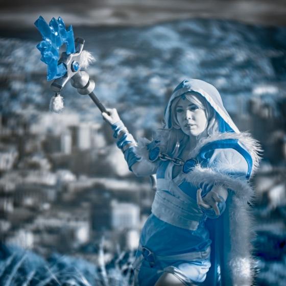 IR camera, Ice maiden