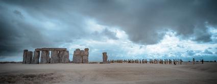 Stonehenge queue