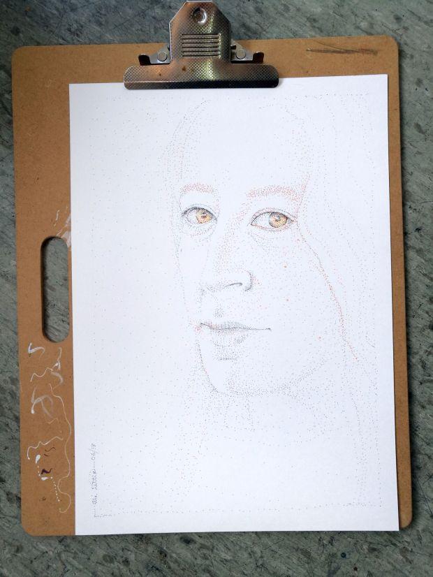 portrait dot style