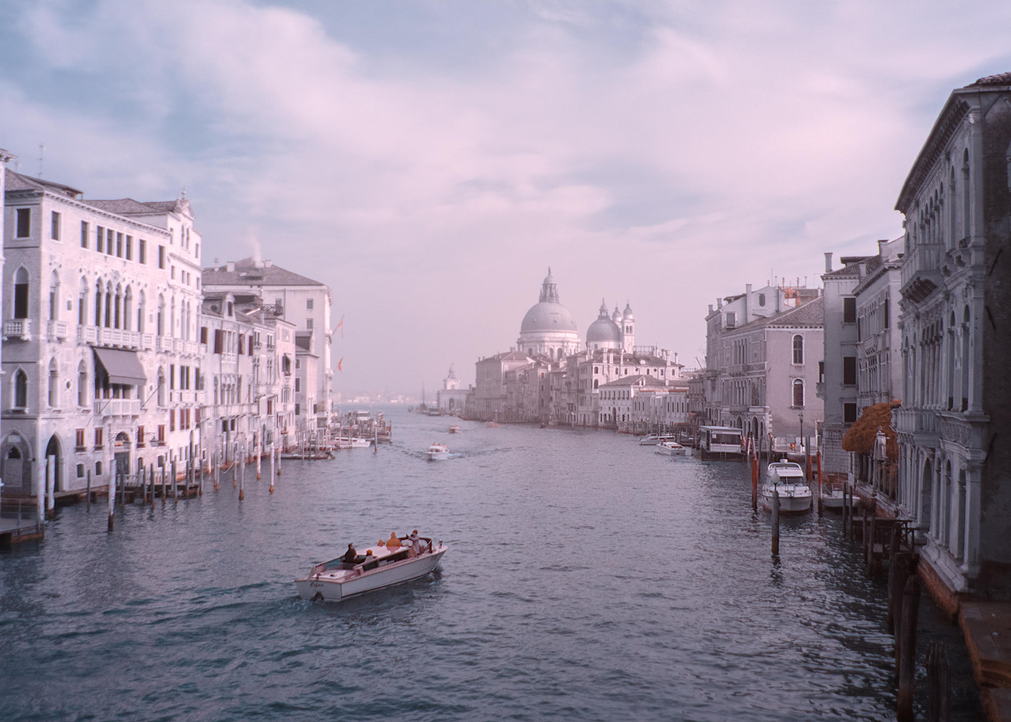 View along the canals