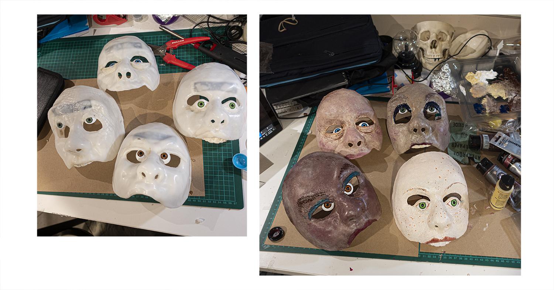 masks being made