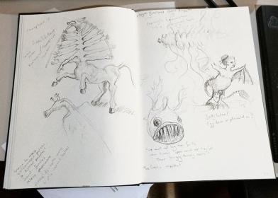 sketchbook creatures